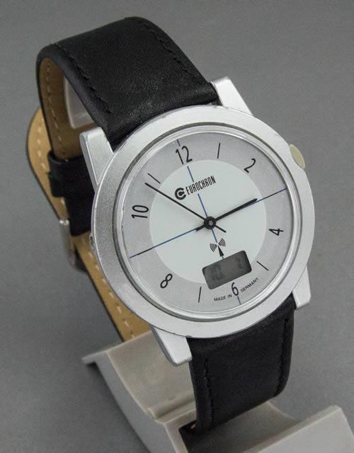 Antiquitäten & Kunst Gewissenhaft Ruhla Eurochron Armbanduhren Zifferblatt